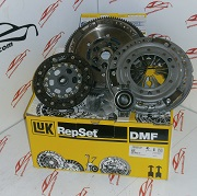 KIT DE EMBRAGUE CON BIMASA VW POLO 1.9 D 64 CV CÓDIGO MOTOR AEF