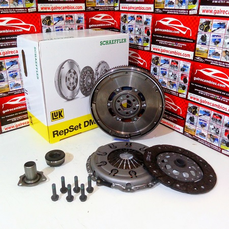 KIT DE EMBRAGUE CON BIMASA SKODA SUPERB 1.9 TDI 130 CV CÓDIGO MOTOR AWX