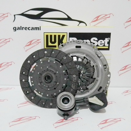 KIT DE EMBRAGUE CON DESEMBRAGUE CENTRAL PARA MOTORES 1.6 TDCI 90 Y 109 CV