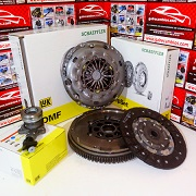 KIT DE EMBRAGUE CON VOLANTE BIMASA JAGUAR X-TYPE 2.2 D