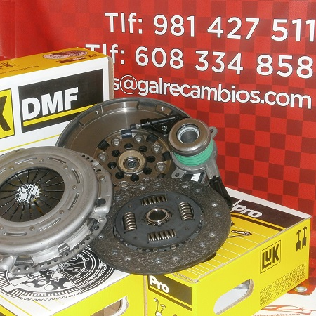 KIT DE EMBRAGUE CON VOLANTE BIMASA MERCEDES E220 CDI 150 CV