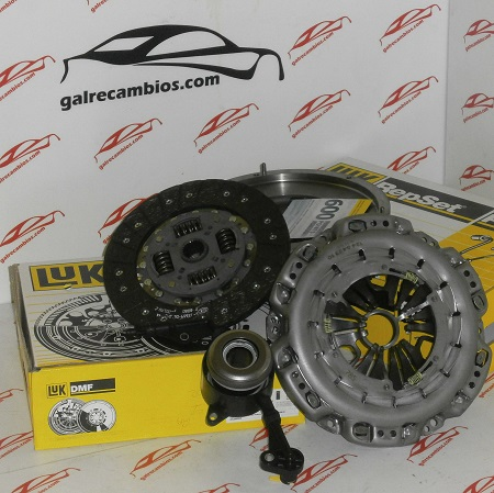 KIT DE EMBRAGUE CON BIMASA PARA VW CRAFTER 2.5 TDI 88 CV 109 CV 136 CV CAMBIO MANUAL