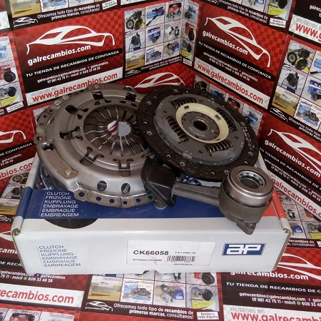 KIT DE EMBRAGUE CON DESEMBRAGUE CENTRAL FORD FOCUS I Y TOURNEO CONNECT 1.8 DI 75 CV 90 CV